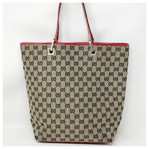 Authentic Gucci GG Monogram Tote Bag